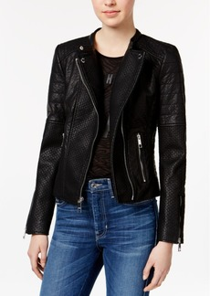 Guess Jazmin Saint Faux-Leather Moto Jacket