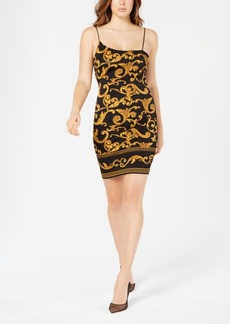 Guess Jenny Gilded Printed Dress