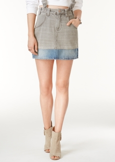 Guess Jessie Cotton Two-Tone Denim Skirt