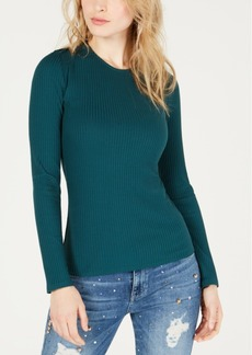 Guess Jordine Ribbed Open-Back Top
