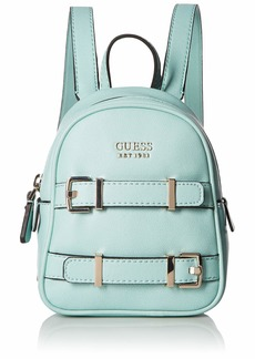 GUESS Jori Solid Mini Backpack turquiose