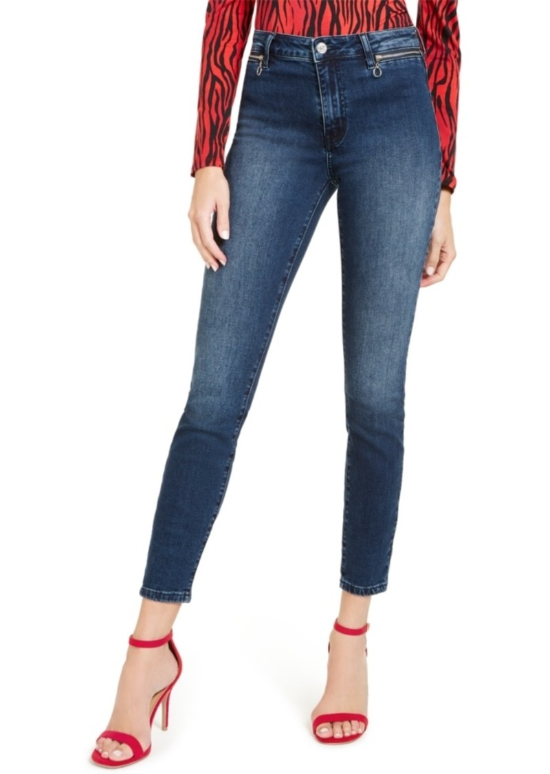 Guess 1981 Moto Skinny Jeans
