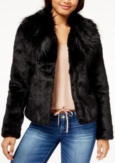 Guess Agata Faux-Fur Coat