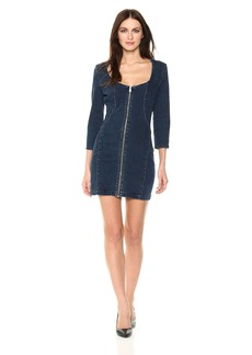 GUESS Junior's Bodycon Dress Dark wash M