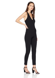 GUESS Junior's Sleeveless Leno Strappy Jumpsuit  L