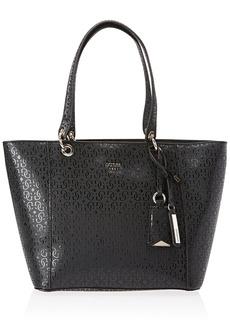 GUESS womens Kamryn G-shine Tote Shoulder Handbag   US