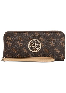 Guess Kamryn Zip-Around Signature Wallet
