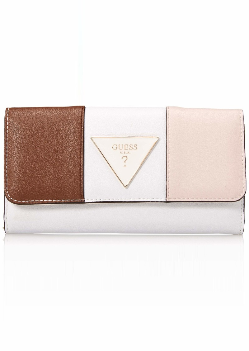GUESS Kamryn Multi Clutch Wallet Cameo