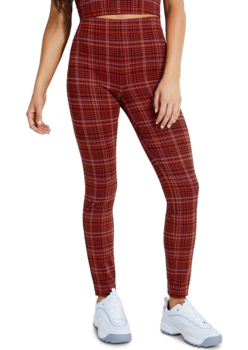 Guess Kaveri Plaid Skinny Pants