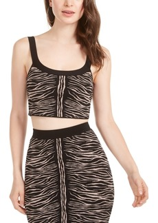 Guess Kingdom Stripe Animal Print Mirage Top
