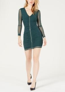 Guess Kinzie Animal-Print Mini Dress