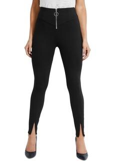 Guess Kumiko Zip-Front Skinny Pants