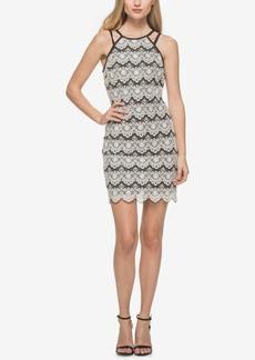 Guess Lace Apron Sheath Dress
