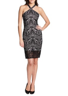 Guess Lace Open Back Dress