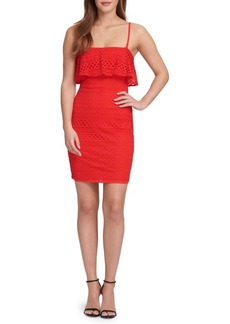 Guess Lace Popover Sheath Dress