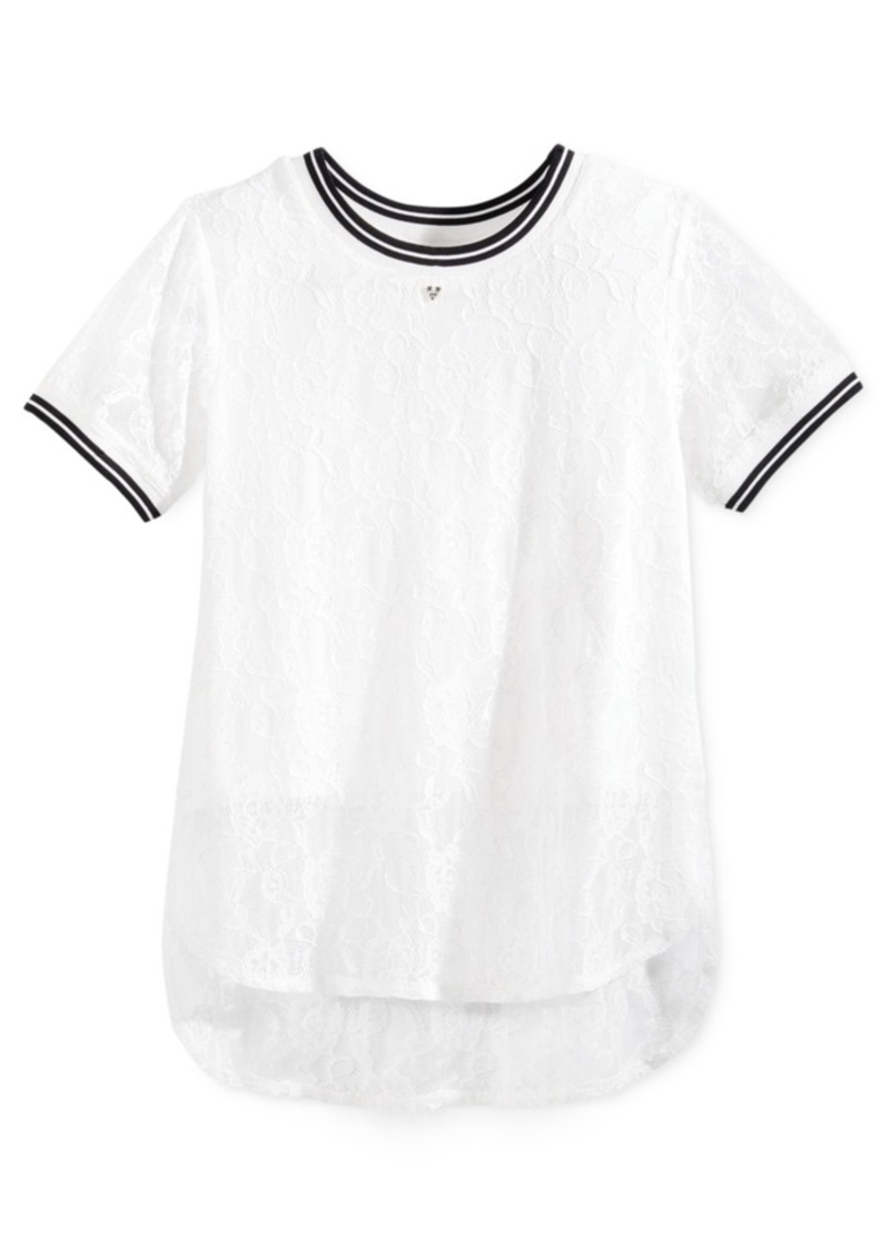 Guess Lace T-Shirt, Big Girls (7-16)