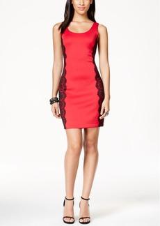 Guess Lace-Trim Bodycon Tank Dress