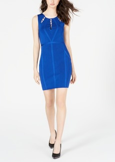 Guess Lace-Up Bandage Dress