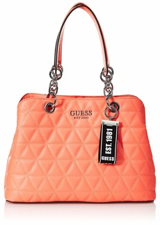 GUESS Laiken Quilted Girlfriend Satchel