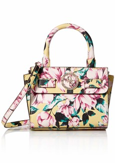 GUESS Landon Floral Micro Mini Satchel Multi