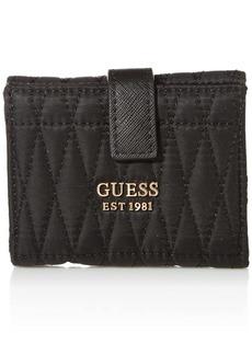 GUESS Layla Petite Trifold Wallet BLACK