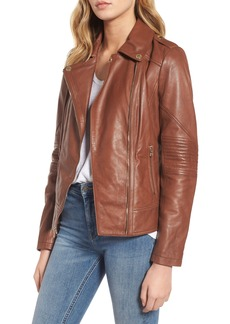 Guess Leather Moto Jacket