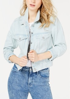 Guess Leda Cotton Embellished Denim Jacket