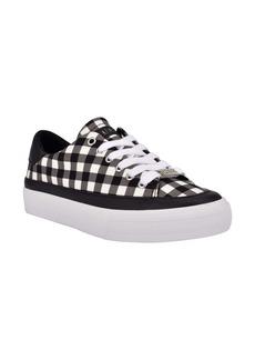 GUESS Leenie Check Platform Sneaker (Women)