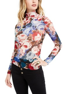 Guess Lia Sheer Printed Top