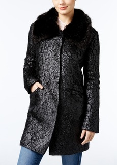 Guess Lindsey Faux-Fur-Trim Jacket