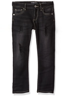 GUESS Boys' Little 5 Pocket Distressed Jean