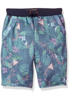 Guess Boys' Little Active Printed Pant Jungle