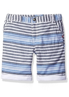GUESS Little Boys' Cotton Twill Stripe Short