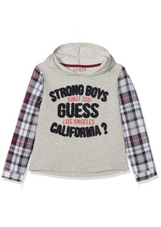 Guess Boys' Little Fleece Hoodie Top