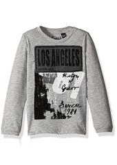 GUESS Boys' Little Long Sleeve Graphic T-Shirt