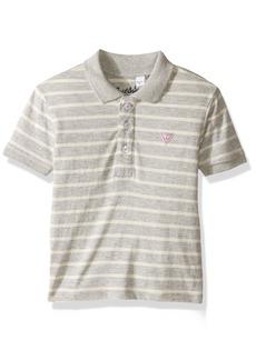 Guess Little Boys' Short Sleeve Polo Shirt  6X/7