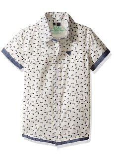 GUESS Little Boys' Short Sleeve Shirt