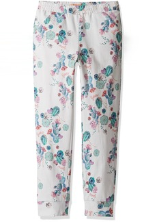 GUESS Girls' Little Floral Print Pants