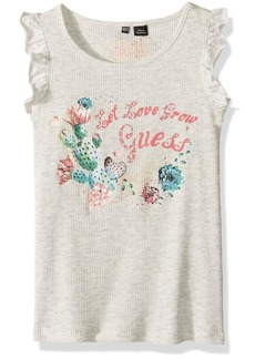 GUESS Little Girls' Graphic Tank Top