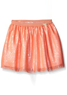 GUESS Girls' Little Mesh and Sequin Skirt
