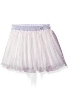 GUESS Little Girls' Pleated Chiffon Skirt