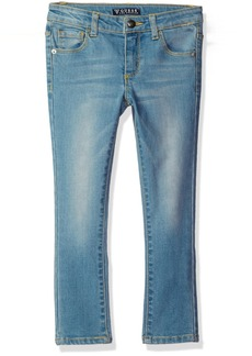 GUESS Little Girls' Skinny Power Stretch Denim 5 Pocket Jean
