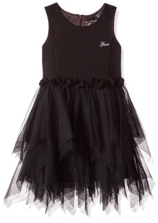 GUESS Girls' Little Sleeveless Fit N Flare Dress