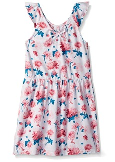 GUESS Little Girls' Sleeveless Floral Dress  T