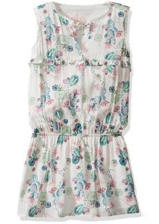 GUESS Little Girls' Sleeveless Printed Dress
