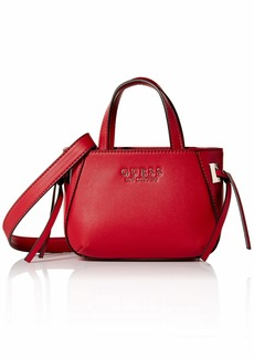 GUESS Lizzy Mini Tote red