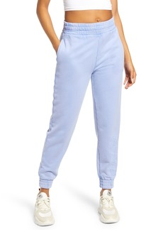 GUESS Logo Embroidered Cotton Joggers