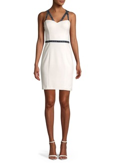 Guess Logo Strap Bodycon Dress