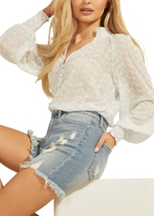 Guess Long-Sleeve Charisse Blouse