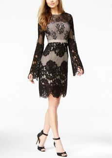 Guess Long-Sleeve Lace Dress